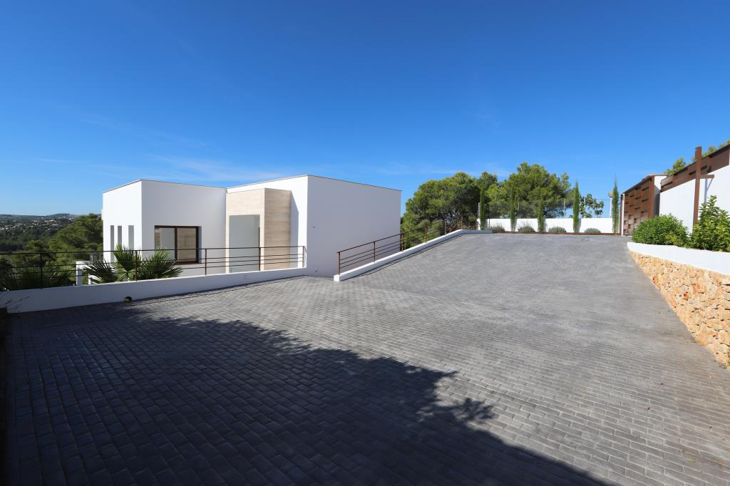 Villa moderna en Javea.