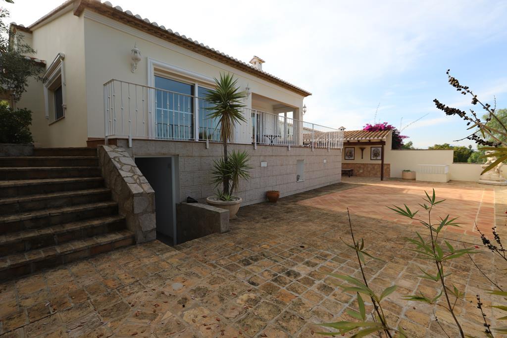 Villa con vistas al mar en Denia