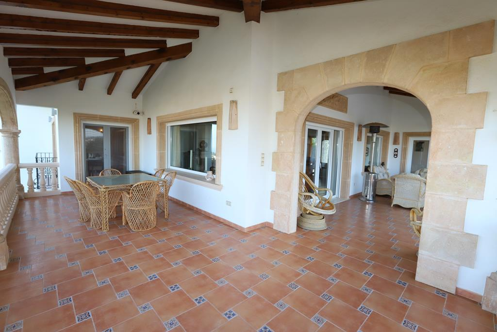 Villa de lujo con vista al mar Denia.