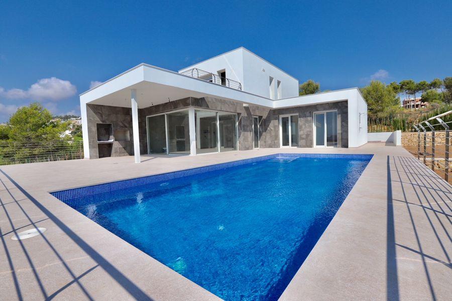 Villa moderna en Moraira.