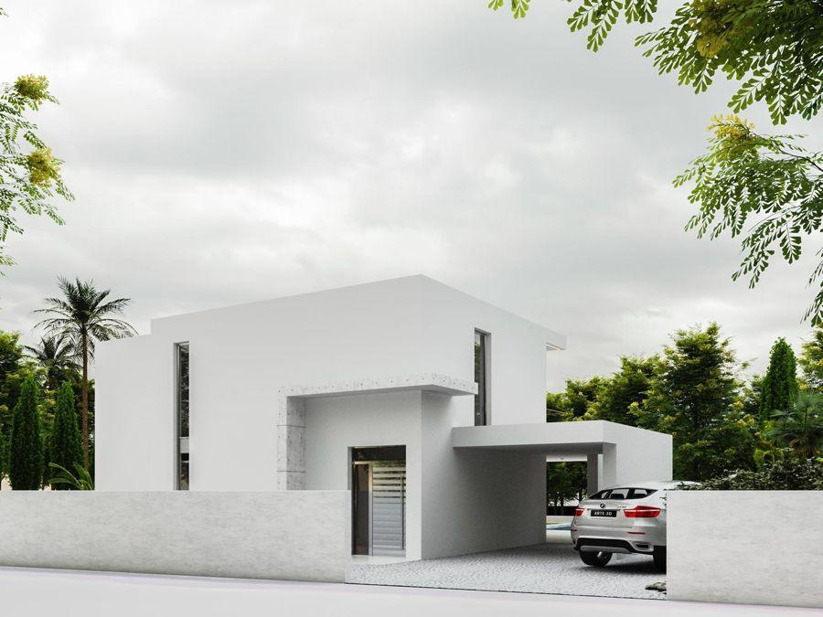 Villa moderna en Benissa Costa