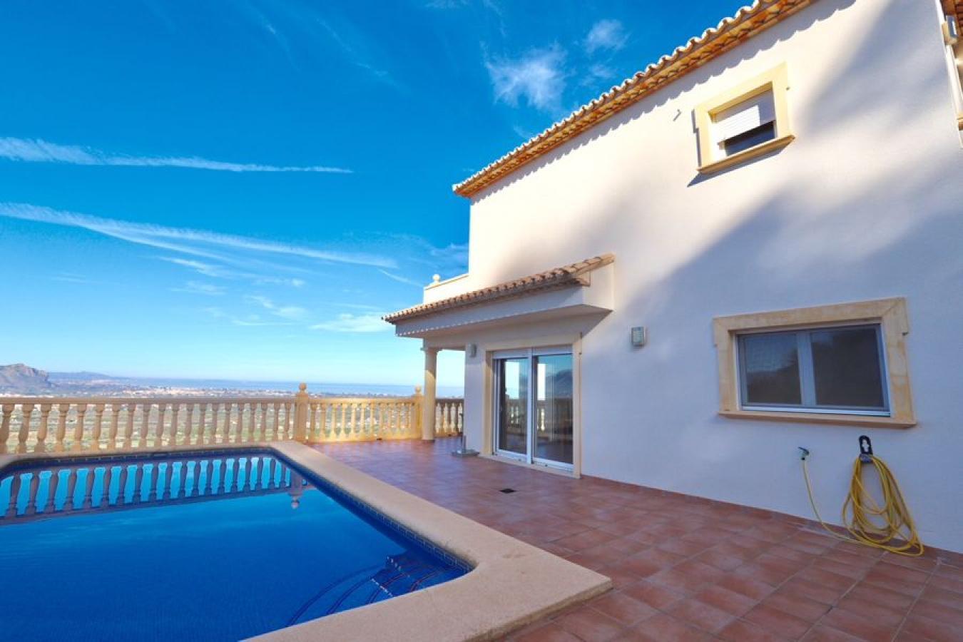 Villa con vistas al mar en La Sella Golf Resort