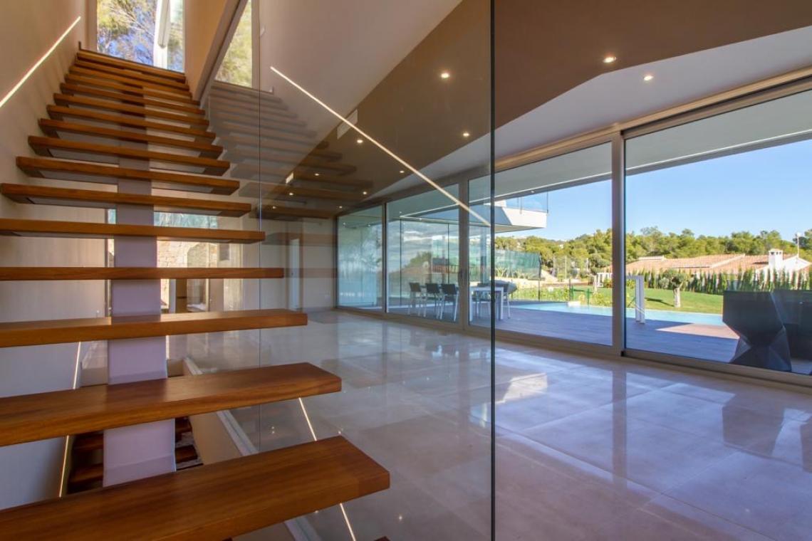 Villa moderna en Benissa costa.