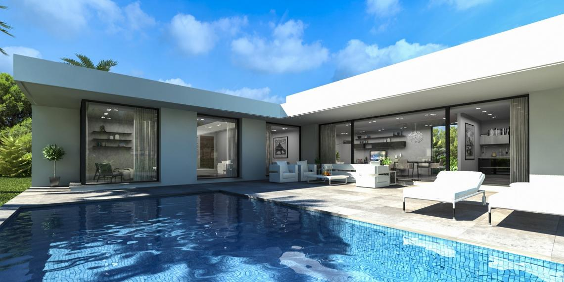 Villa nueva construcción en Dénia