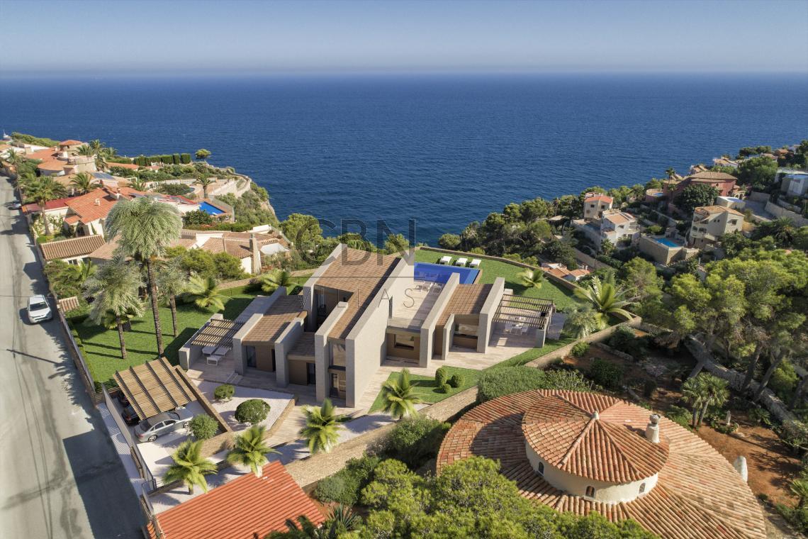 Villa de lujo con impresionantes vistas