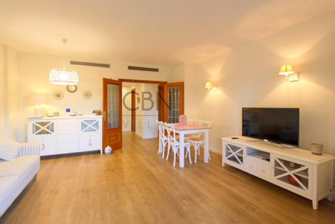 Apartamento en 1ª línea de playa de las Marinas, Dénia