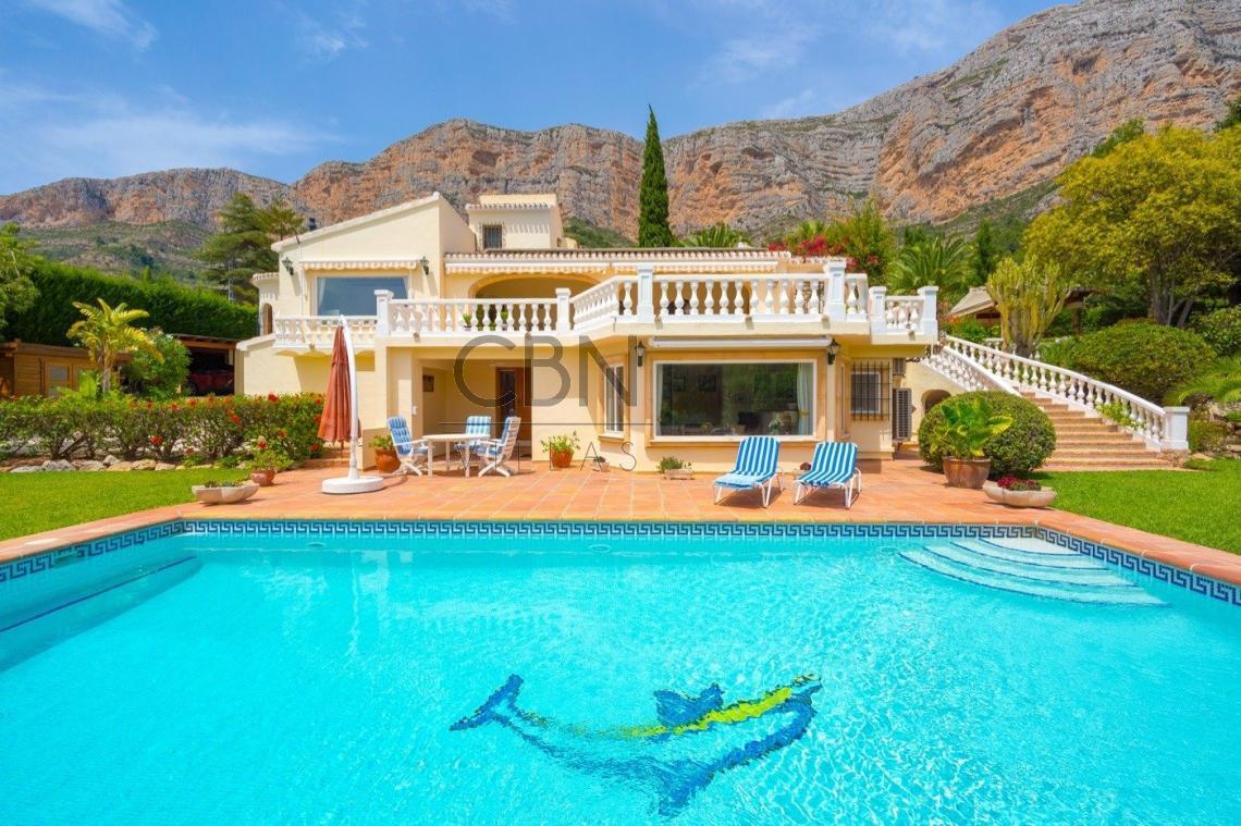 Villa en venta sur Montgo, Javea