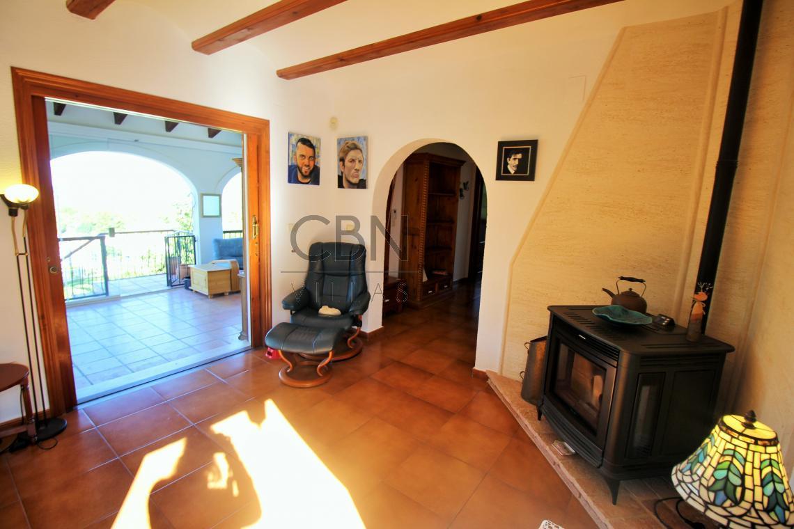 Villa en venta con magnificas vistas al mar La Sella Golf Resort