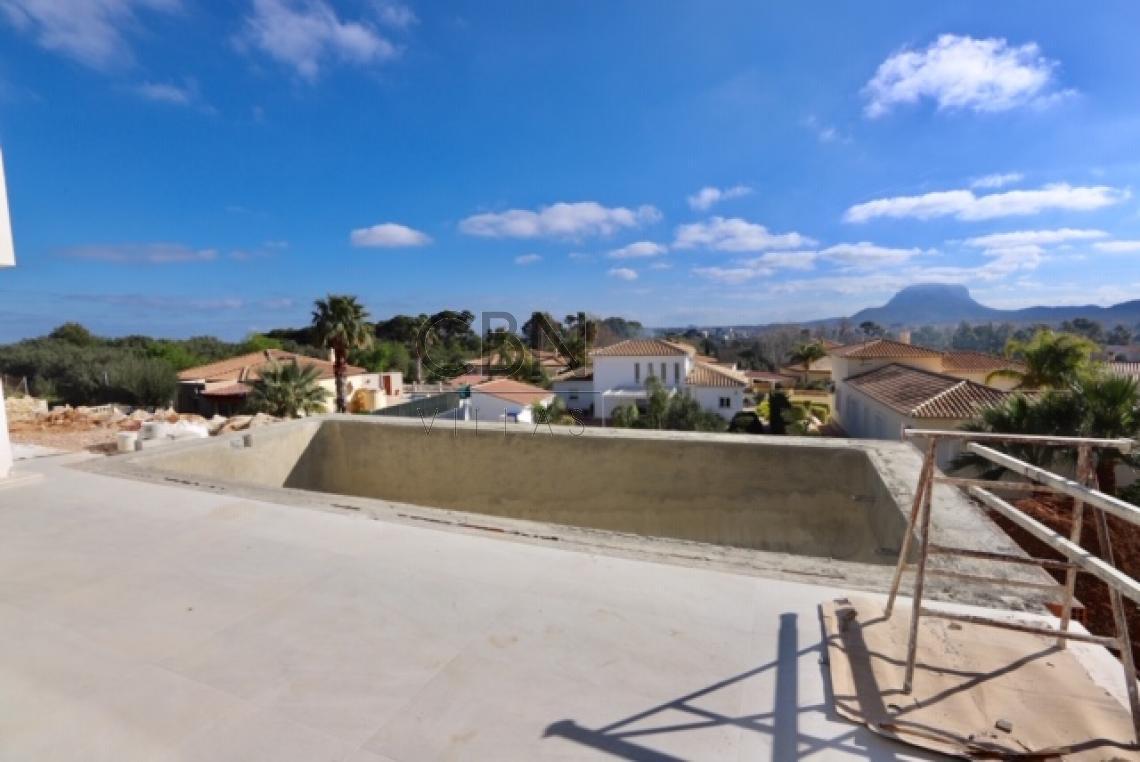 Casa moderna con vistas al mar en Beniarbeig